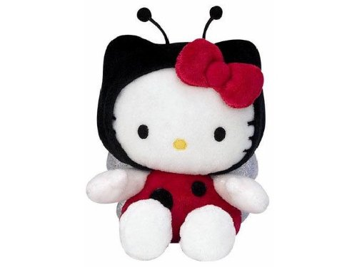 Peluche Hello Kitty mariquita