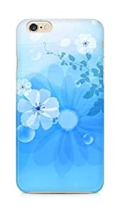 Amez designer printed 3d premium high quality back case cover for Apple iPhone 6s (Flowers abstract background pattern)
