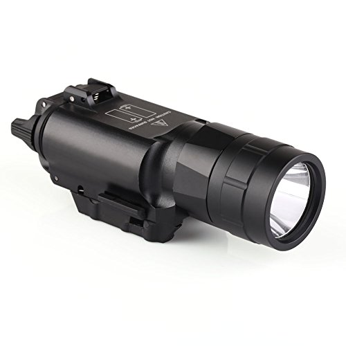 jg-2a-500-lumen-gree-tactical-flashlight-led-white-light-with-picatinny-rail-by-very100