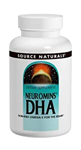 Source Naturals Neuromins DHA 200mg, 120 Softgels, packaging may vary