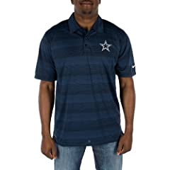 Dallas Cowboys 2014 Preseason Polo Navy XLarge by Dallas Cowboys
