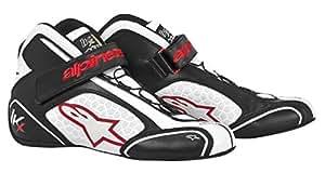 アルパインスターズ TECH 1-KX ブラック/ホワイト/レッド(123) 7.5サイズ レーシングシューズ レーシングカート・走行会用