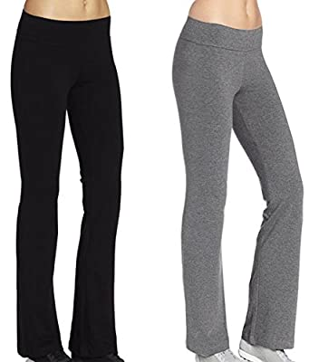 ABUSA Women's Athletic Yoga Long Pants Pack