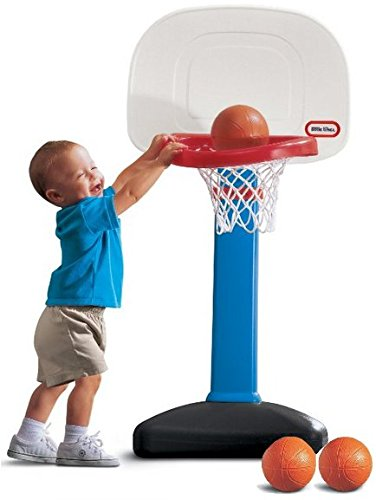Little Tikes EasyScore Basketball Set - 3 Ball Amazon Exclusive (Little Kid Outdoor Toys compare prices)