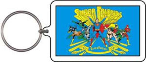 Licenses Products DC Comics Originals Super Friends Lucite Keychain