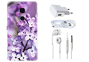 Spygen LeEco LeTv Max Case Combo of Premium Quality Designer Printed 3D Lightweight Slim Matte Finish Hard Case Back Cover + Charger Adapter + High Speed Data Cable + Premium Quality Handfree