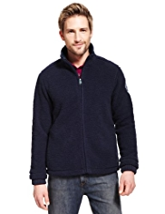 Blue Harbour Zip Through Fleece Top