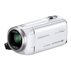 Panasonic デジタルハイビジョンビデオカメラ 光学50倍ズーム HC-V520M