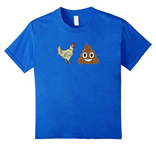 Emoji-T-Shirt-Chicken-Poop-Emoji-Funny-Emoji-Shirt