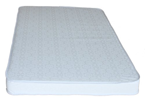 Colgate Mattress Portable Mini Crib Mattress, White