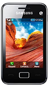 Samsung Tocco Lite 2 S5220 Smart Mobile Phone on Vodafone Pay as you go / Pre-Pay / PAYG - Black