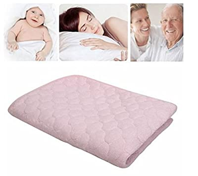 Waterproof Underpad Mattress Sheet Protector Bedding Diapering Reusable for Baby Adults with Inconti by STCorps7