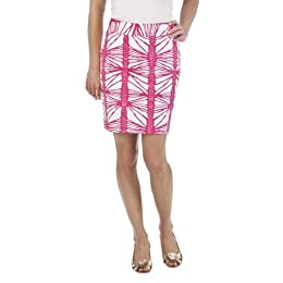 Product Image Merona® Collection Women's Monica Pencil Skirt - Pink/White
