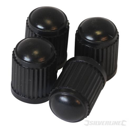 SILVERLINE Tyre Dust Caps