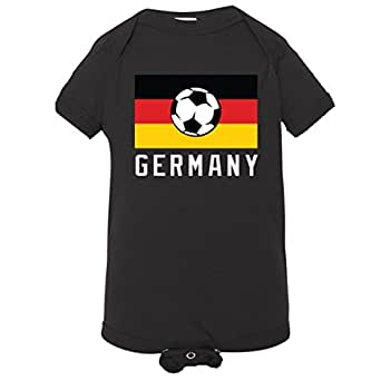 baby creeper flags soccer germany infant body. Black Bedroom Furniture Sets. Home Design Ideas