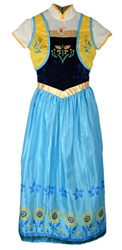 Eyekepper Frozen Fever Birthday Party Anna Princess Dress Costume Adult