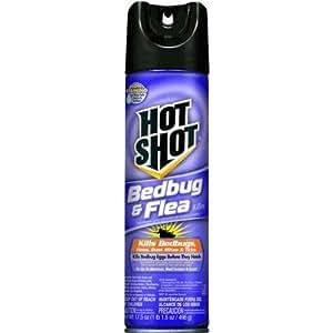 Hot Shot HG-95763 18 oz Bedbug & Flea Killer Aerosol (Discontinued by Manufacturer)