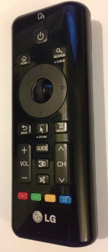 Lg Cinema 3D Lcd-Led Hdtv Qwerty Remote Control Akb73597001
