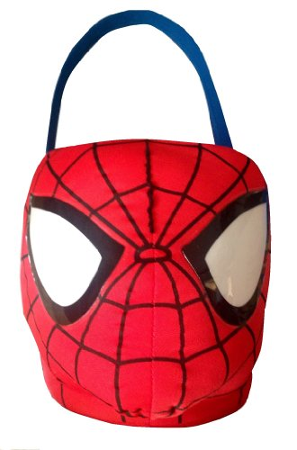 The Amazing Spider-man Basket Plush Bucket (Spiderman Easter Basket compare prices)