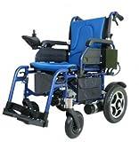 最安電動車椅子【アルミ】【車椅子】【背折れ】【折りたたみ】PW-777PL