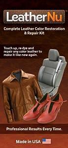 LeatherNu Complete Leather Color Restoration & Repair Kit from LeatherNu, LLC