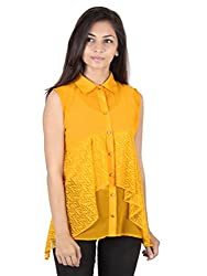 Ethnic For You Musturd Yellow Georgette