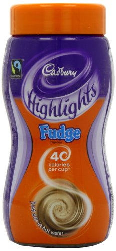 Cadbury Highlights Fudge Hot Chocolate Jar 220 g (Pack of 3)