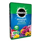 Miracle Gro Moisture Control Compost 50L **PROTECTS AGAINST OVER AND UNDER WATERING**