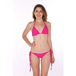 Bikini Set, Pink, M