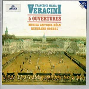 Veracini: 5 Ouvertures