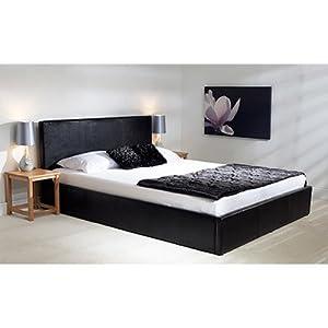 Madrid Ottoman Bed Frame Colour: Black, Size: Super King (6')