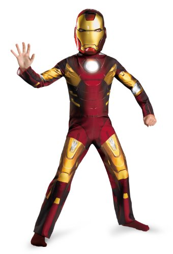 Disguise Boys Iron Man Avengers Kids Costume