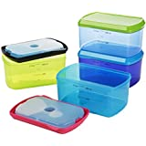 Fit & Fresh Kid's Lunch 2-Cup Chilled Containers Set