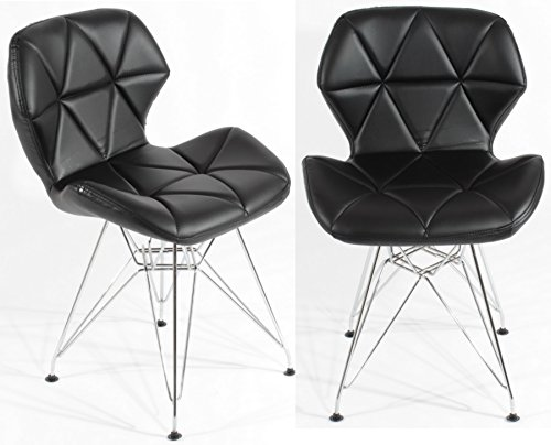 charles-jacobs-dining-office-chair-x2-pair-in-black-with-metal-legs-new-cushioned-design-for-extra-c