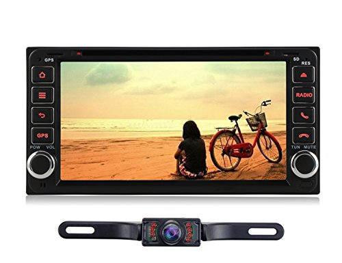 Volsmart 6.95 inch Android 5.1 Car Radio Player for Toyota Corolla 2000-2006 RAV4 2001-2008 Camry 2006-2010 Prado 1996-2009 Highlander 2002-2009 4Runner 2002-2009 FJ Cruiser Stereo DVD GPS Navigation