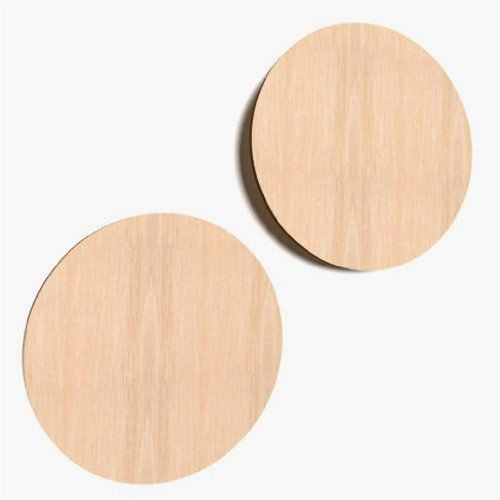 Bilderrahmen Holz Lackieren ~ 10x Kreis aus Holz Basteln Malen Dekoration Bilderrahmen Holzscheibe