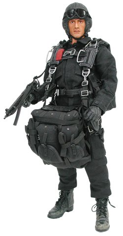 Movie Masterpiece - 1/6 Scale Fully Poseable Figure : Rambo First Blood Part II - John J. Rambo (HALO Jumper Limited Version)