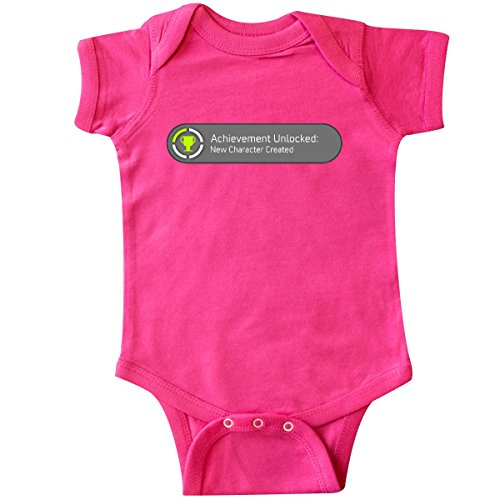 inktastic-unisex-baby-achievement-unlocked-new-character-created-infant-creeper-6-months-hot-pink