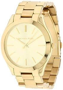 Michael Kors Women's MK3179 Runway Gold Watch