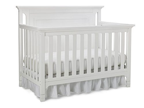 Ti Amo Carino 4-in-1 Convertible Crib, Snow White