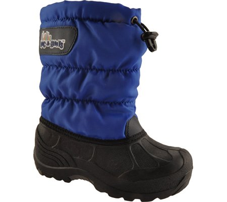Roc a bouts Children's Igloo Fleece Lined Boots,Royal Blue,12 M US