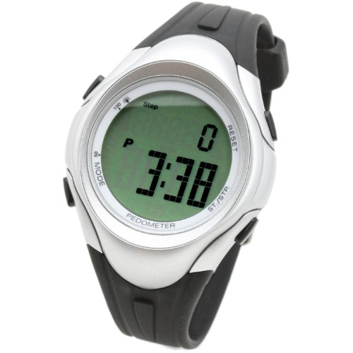 LZQ1BH [Lad Weather] Training Data Management Watches Pedometer/ Odometer/ Calories/ Exercise Time/ Jogging/ Walking Running Chronograph Outdoor Sports Watches