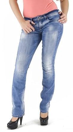 Only Damen Straight Jeans Jolina S Ohio Jeans, denim, Gr. 25/36