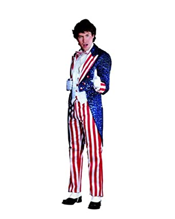 Amazon.com : Sequin Uncle Sam Adult S : Childrens Party Supplies