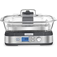 Cuisinart STM-1000 CookFresh Digital Glass Steamer (Stainless Steel)