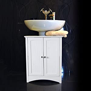 white under sink bathroom storage cabinet