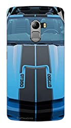 Miicreations Mobile Skin Sticker For Lenovo Vibe K4 Note,Racing Car