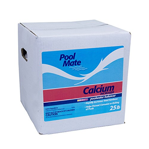 Pool Mate 1-2825 Calcium Increaser For Swimming Pools, 25-Pound