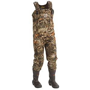Hodgman dura mag 1200 chest wader mossy oak for Fishing waders amazon