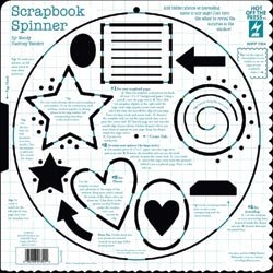 Hot Off The Press Template 12x12: Scrapbook Spinner